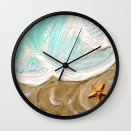 Toes in the Sand... Wall Clock
