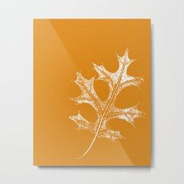 STATIONERY CARD - Autumn Leaf Metal Print