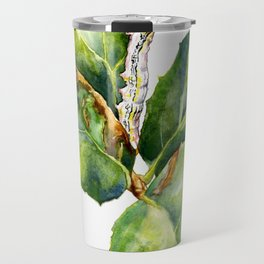 California Oak Moth Caterpillar Travel Mug