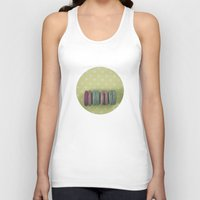 macaroons Tank Tops featuring Sweets by Jessica Torres Photography