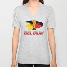 World cup Belgium Unisex V-Neck