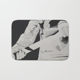 Hockey Hands Bath Mat