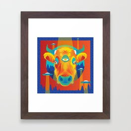 Beam me up, Bessie! Framed Art Print