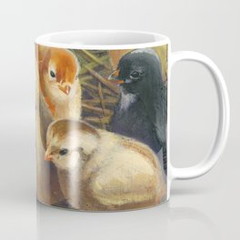baby chicks - by phil art guy Coffee Mug