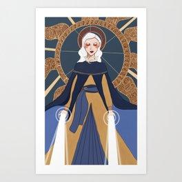 Sankta Alina Art Print