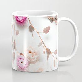 SPRING FLOWERS IN BLUSH 1 Coffee Mug