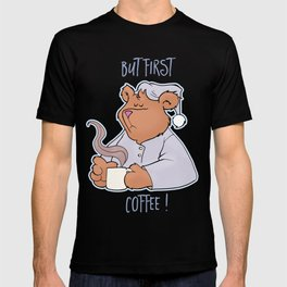 But First Coffee Bear T-shirt