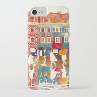 takmaj iPhone & iPod Cases featuring Evening in Poznań by takmaj