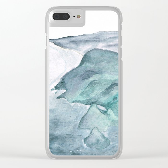 Cliffside Clear iPhone Case