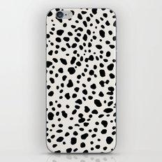 Polka Dots Dalmatian Spots iPhone Skin
