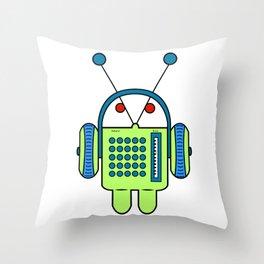 andy radio Throw Pillow