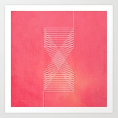 Lines_Shapes (iPhone Created) Art Print