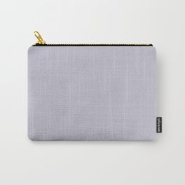 Light Pastel Purple Solid Color Matches Valspar America Fragrant Lilac 4001-5B Carry-All Pouch