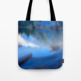 Reflections on my secret lake Tote Bag