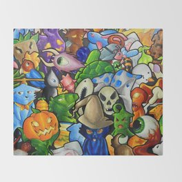 All terraria's pets Throw Blanket