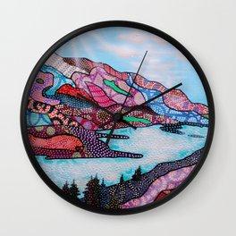 Oakanagan Dream Wall Clock