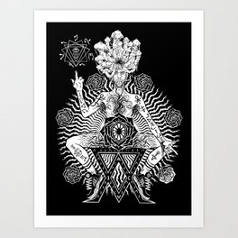 Inversion of the V. ∆. Art Print
