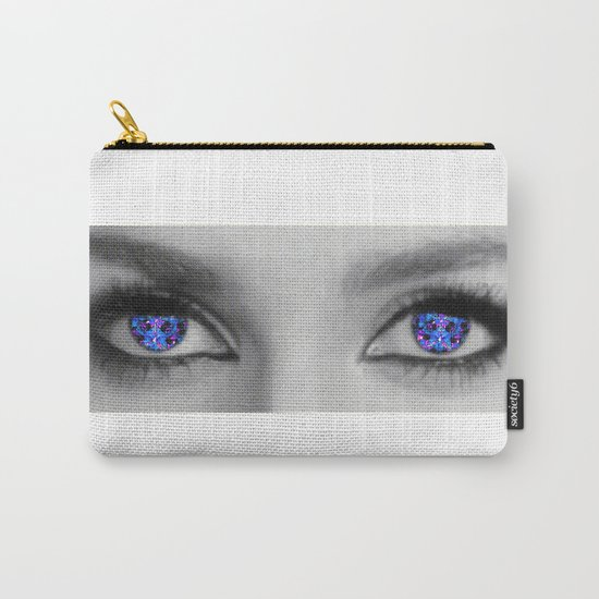 her eyes kaleidoscope Carry-All Pouch