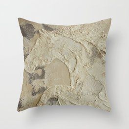 Horse in Stone Throw Pillow