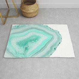 Soft Turquoise Agate Dream #1 #gem #decor #art #society6 Rug