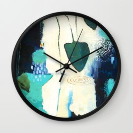"""Deep Sea Forest"" Original Artwork by Flora Bowley Wall Clock"