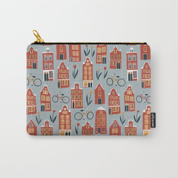 Charming Dutch Houses Carry-All Pouch