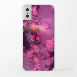 Dragonfruit Galaxy (2019) Clear iPhone Case