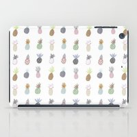 pineapples iPad Cases featuring Pineapples by surfed