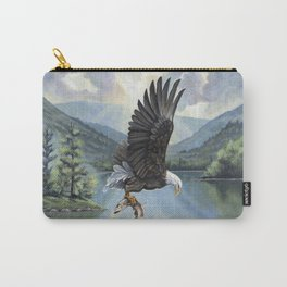 Eagle with Fish Carry-All Pouch