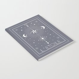 L'Etoile or The Star Tarot Notebook