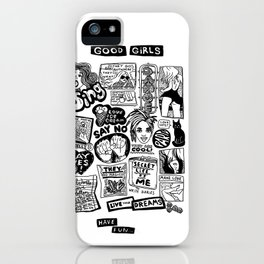 Good Girls Have Fun! iPhone Case