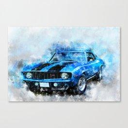 1969  Z28 Canvas Print