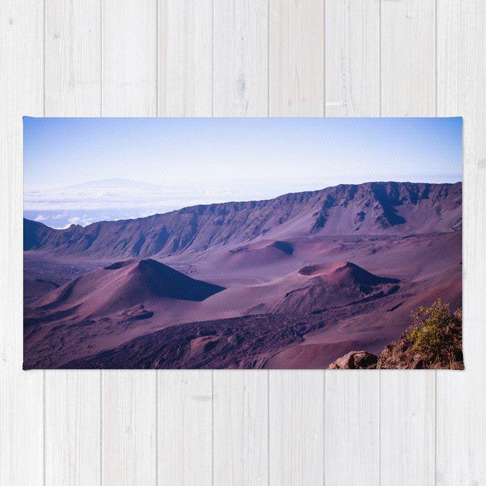 86a603861 Haleakalā Sunrise On The Summit Maui Hawaii Kalahaku Rug by ...