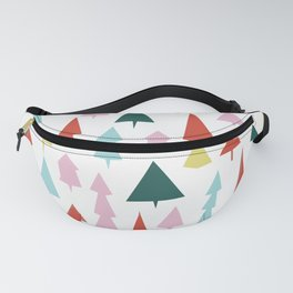 Holiday Trees Fanny Pack