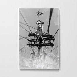 CROSSROAD GUARDIAN - GMB CHOMICHUK Metal Print