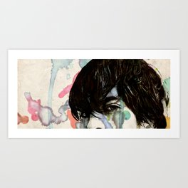 Bright Eyes Conor Oberst Art Print