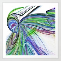 tie dye Art Prints featuring Tie Dye by Shalisa Photography