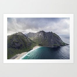 perfect viewpoint Art Print