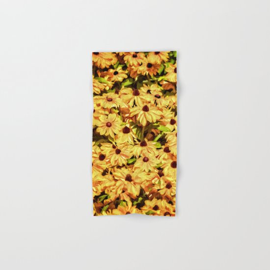 A field of Sunshine Hand & Bath Towel