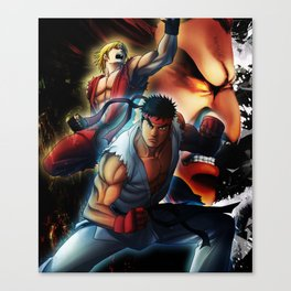 Street Fighters Canvas Print