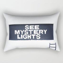 See Mystery Lights Marfa Rectangular Pillow