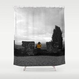 Chase The Rain Away Shower Curtain