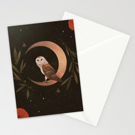Barn Owl Magic Stationery Cards