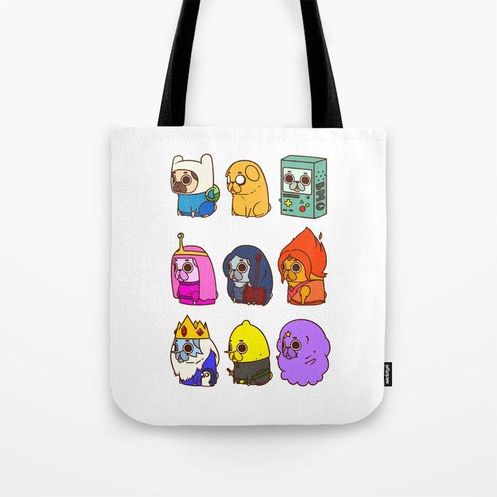 Pugventure Time! Tote Bag