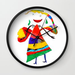fly with me... Wall Clock