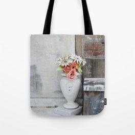 Grave yard flowers Tote Bag