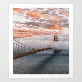 GOLDEN GATE BRIDGE - 21118/3 Art Print