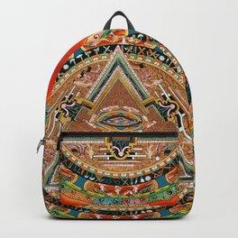 Buddhist Mandala 43 Mahakala Shri Devi Backpack