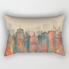 Wellington City Skyline, NZ - Navaho Rectangular Pillow
