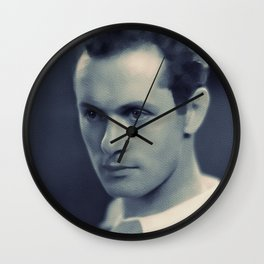 Robert Montgomery, Hollywood Legend Wall Clock